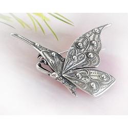 Silberschmuck - Brosche Schmetterling Silber-925 (SN14)*