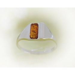 Bernstein-Ring Silber-925 BR173