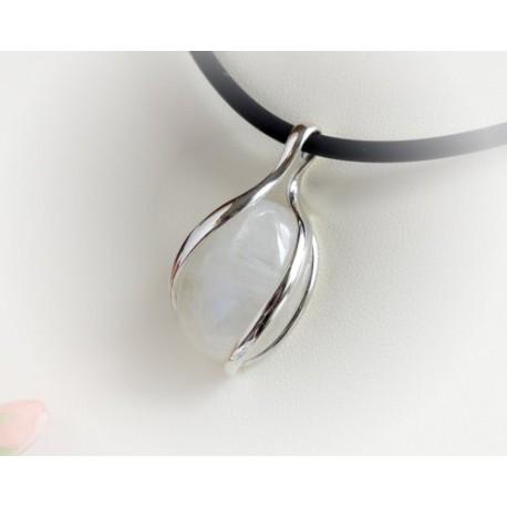 Mondsteinschmuck - Mondsteinanhänger  Silber-925  (MT20)*