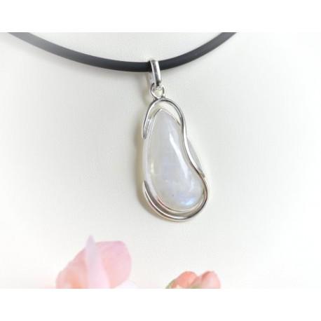 Mondsteinschmuck - Mondsteinanhänger  Silber-925  (MT21)*