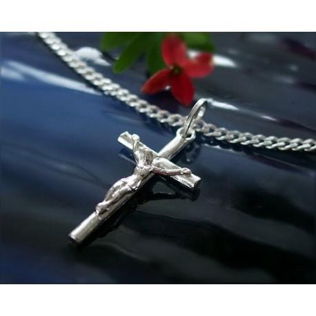 Silberschmuck - Anhänger Kreuz Silber-925  (SH69)*