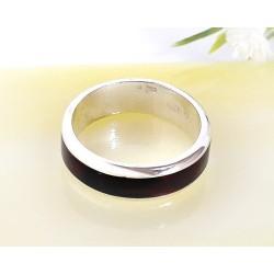 Bernsteinschmuck - Bernstein-Ring Silber-925  (CK73)*