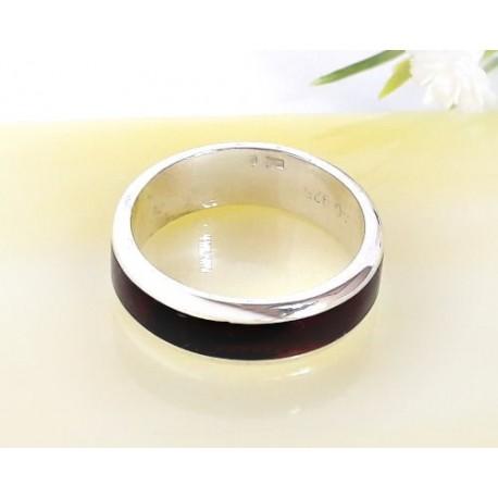 Bernsteinschmuck Bernstein Ring Silber 925 CK73