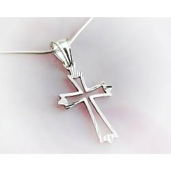 Silberschmuck - Anhänger Kreuz Silber 925 (SU226)*
