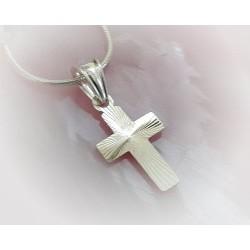 Silberschmuck - Anhänger Kreuz Silber 925 (SU225)*