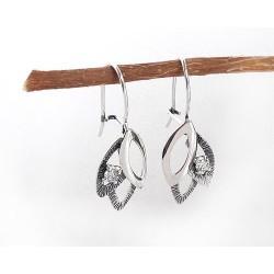 Silberschmuck - Ohrhänger mit Zirkonia Silber-925 (SM76)*
