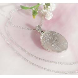 Silberschmuck - Medaillon Silber-925  (SU330)A