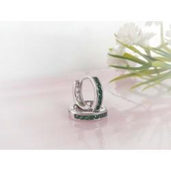Silberschmuck Klapp Creolen Silber 925 SC220a