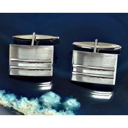 Herrenschmuck - Manschettenknöpfe  Silber-925  (HMK01)*