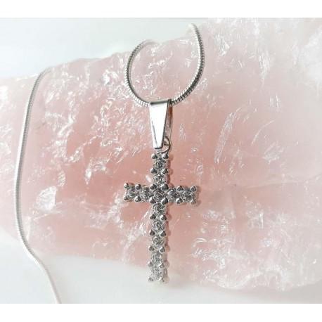 Silberschmuck Kreuzanhänger  Silber 925 SP45