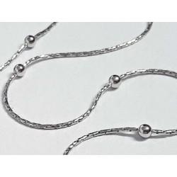 Kette Silber 925 Halskette Collier 45 cm Sterlingsilber sd163-45