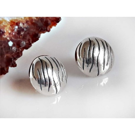 Silberschmuck Silber Ohrringe Ohrstecker rund Sterlingsilber 925 so19