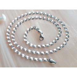 Kette Silber 925 45 cm Sterlingsilber rhodiniert ka241