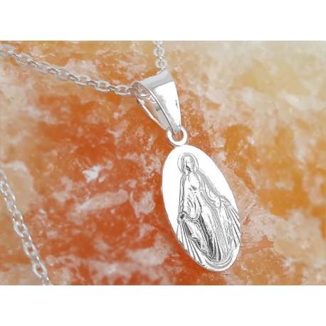 Devotionalien -Medaille Jesus Christus Silber 925 su351