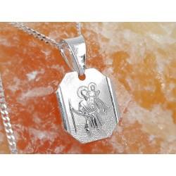 Devotionalien -Medaille Jesus Christus Silber 925 su349