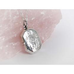 Silberschmuck - Medaillon Silber 925 su359
