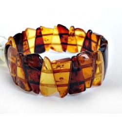 Bernstein Armband gelb 18,5 cm mit Gummizugband cu117a