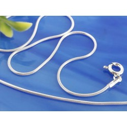 Silberschmuck - Armband Schlangenkette 17-20 cm Silber 925 sg34