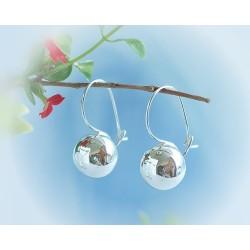 Silberschmuck Ohrhänger Kugel Ohrringe Silber 925 SO31