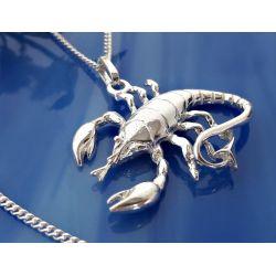Skorpion Anhänger Silber-925 su365