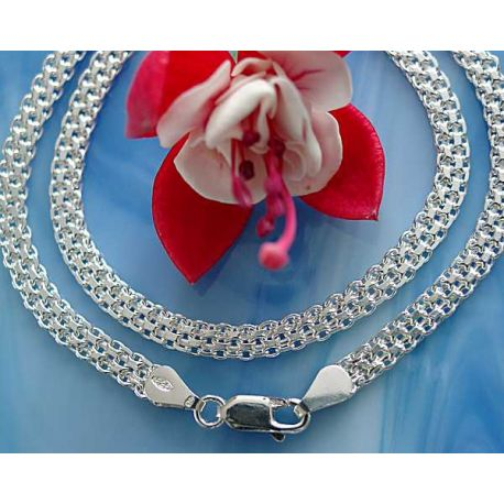 Silber Collier 45 cm Silber 925 Silberschmuck sd184
