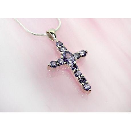 Kreuz Anhänger Silber 925  sp280