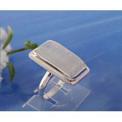 Mondstein Ring Silber 925 Silberschmuck MT103
