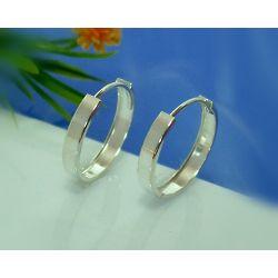Creolen Silber 925 Ohrringe Silberschmuck SC38